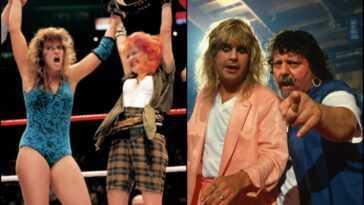 Wrestlemania: Cindy Lauper Et Ozzy Osbourne Montent Sur Le Ring