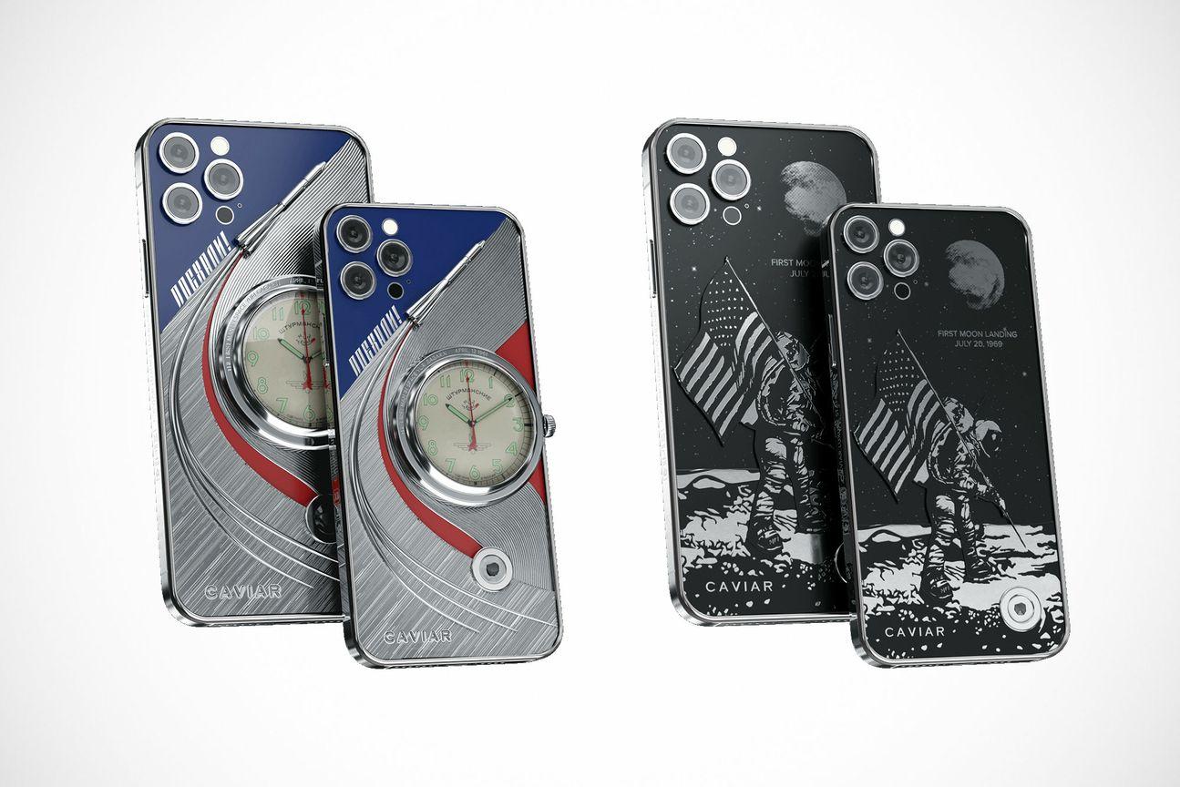 Conception Gagarine et Armstrong de l'iPhone 12 Pro