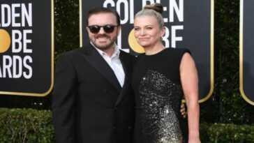 Ricky Gervais Girlfriend Jane Fallon.jpg