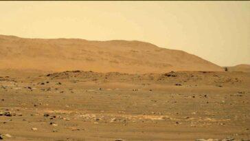 L'hélicoptère Mars Ingenuity Va Plus Vite Et Plus Loin Que