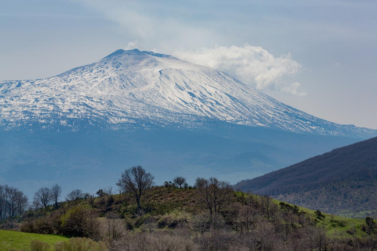 volcan et neige