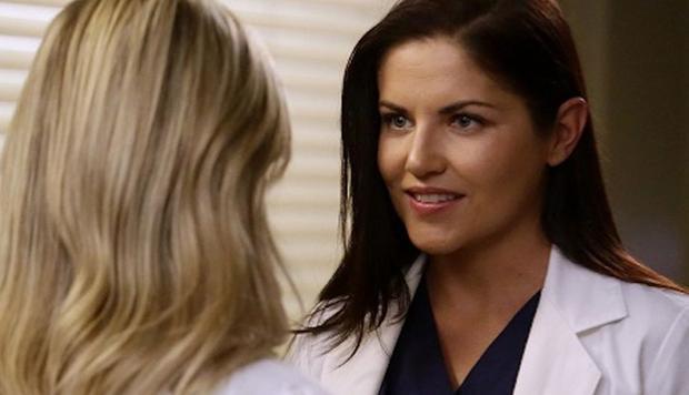 """Eliza Minnick a été licenciée à la fin de la saison 13 de """"L'anatomie de Grey"""" (Photo: ABC)"""