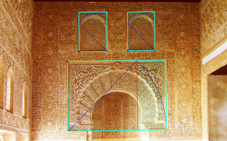Image 5 6 Proportions 2 Sur Le Mur Mihrab