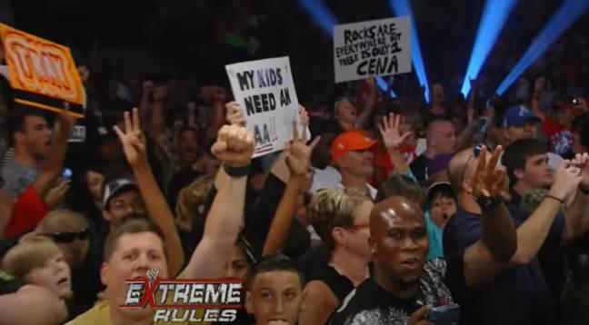 Crédit: WWE