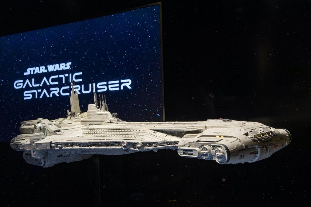 Star Wars Galactic Starcruiser - c'est le vaisseau spatial