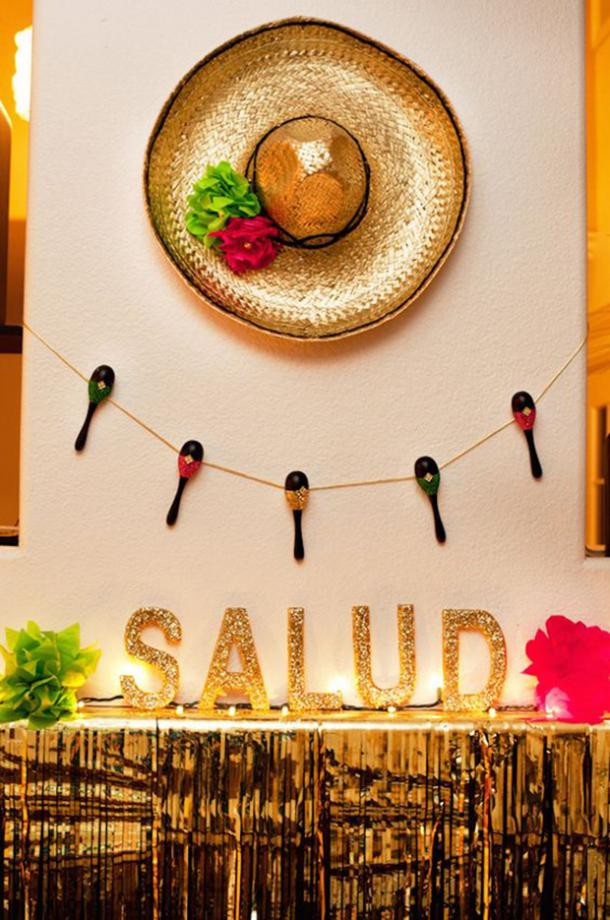 salud diy décorations cinco de mayo