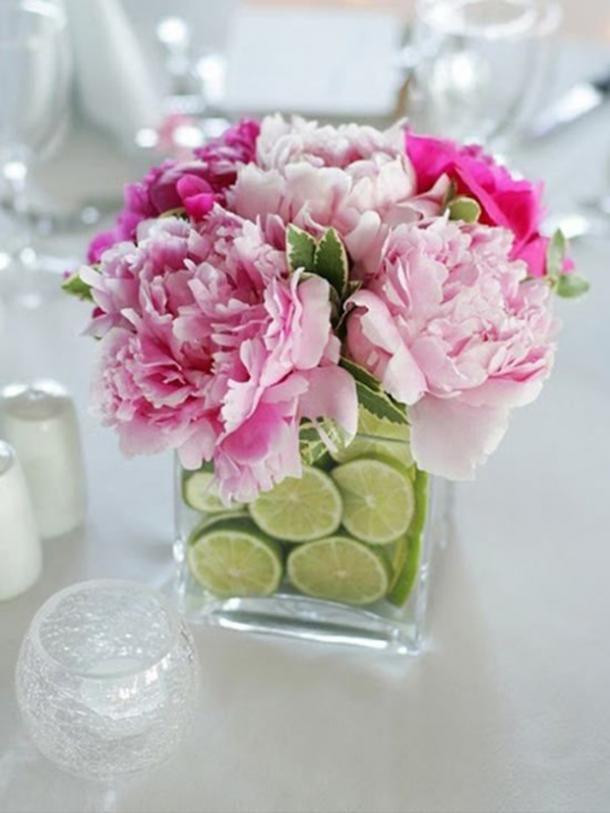 Vase à fleurs à la chaux bricolage décorations cinco de mayo