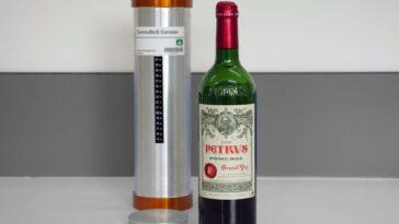 Le Vin Rouge Dans L'espace Peut Vieillir Plus Vite Que