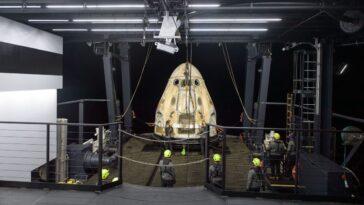 Le Prochain Vol De Spacex Pour Crew Dragon Resilience Est