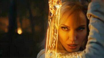 Angelina Jolie révèle qu'elle a vu la bande-annonce d'Eternals