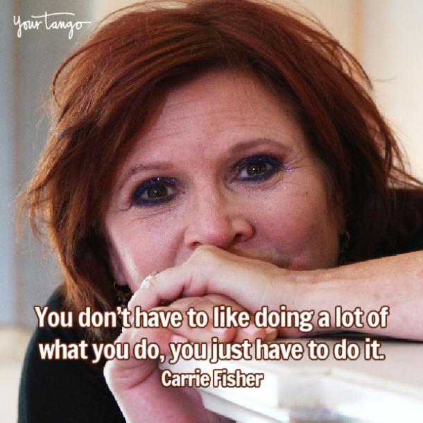 Carrie Fisher vous n'avez qu'à le faire