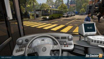 Le simulateur de bus 21 casse la Mercedes-Benz et les parcs le 7 septembre sur PS4