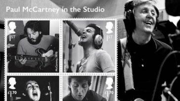 Célébrez l'héritage de Paul McCartney avec une collection de timbres-poste