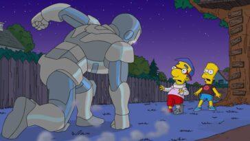 Les Simpsons auraient un croisement avec Marvel dans les futurs courts métrages