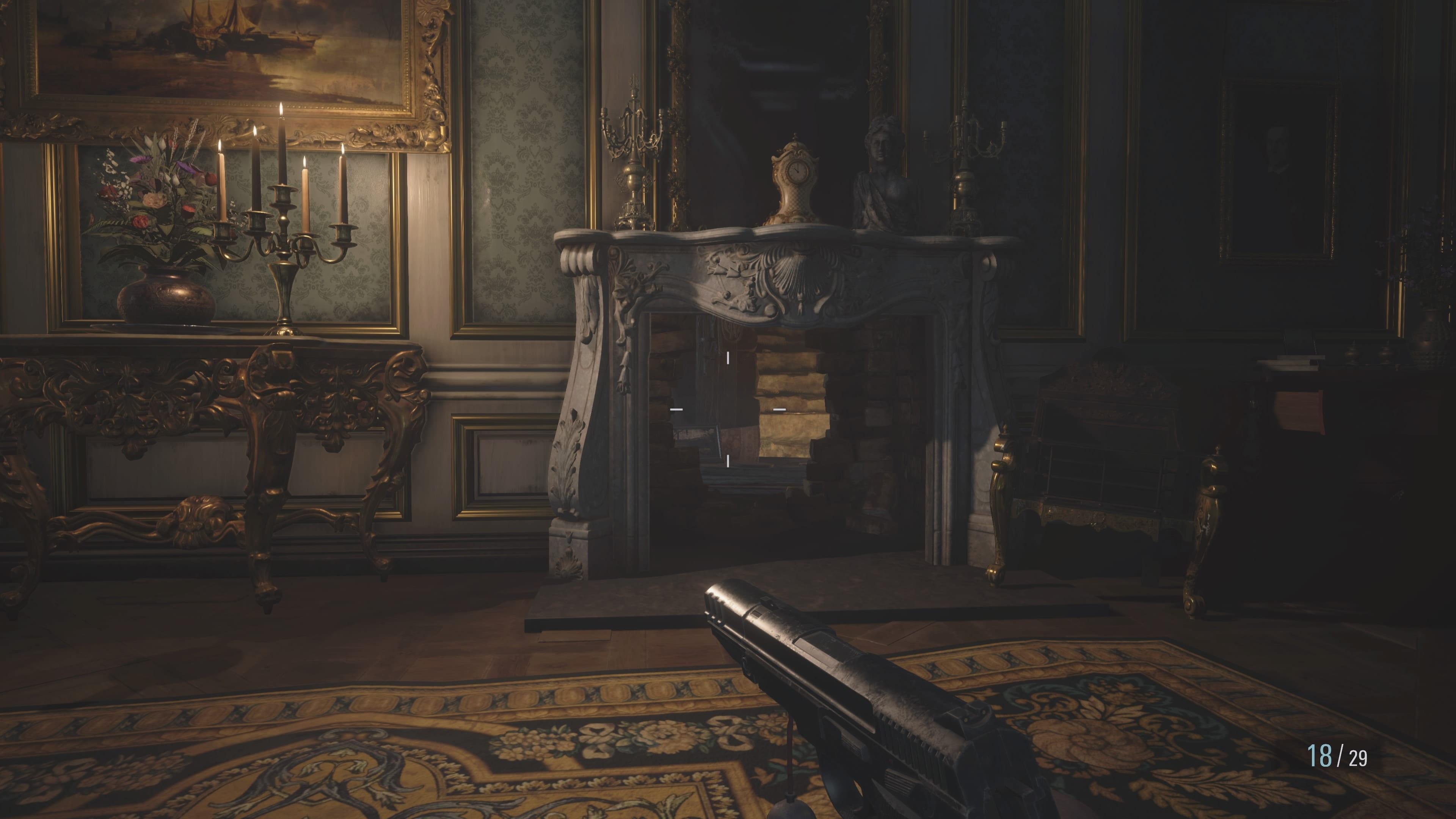 Resident Evil 8: Secret Passage, Hall of Rapture (Solution Resident Evil 8)