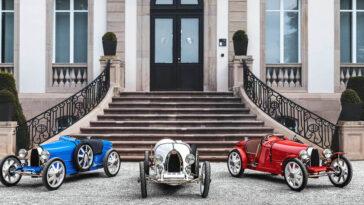 La Bugatti Baby II est une réplique électrique d'un modèle mythique de la course automobile et seulement 500 seront fabriquées