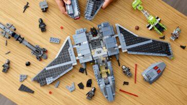 Lego Star Wars: Attack Shuttle De The Bad Batch Obtient