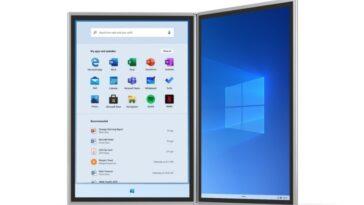 Microsoft arrête le développement de Windows 10X: la version pour les appareils à double écran échoue sans même atteindre le marché