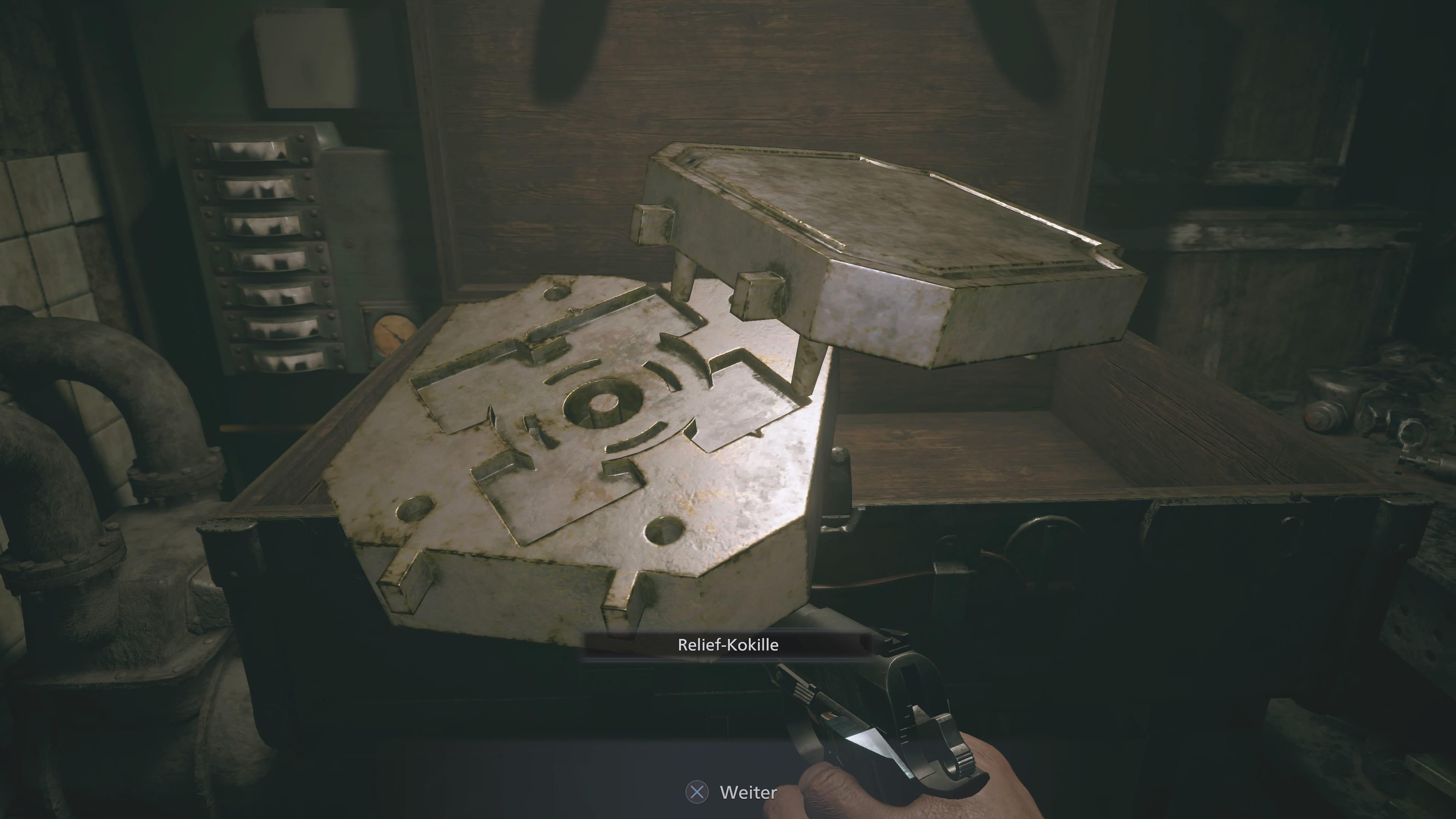 Resident Evil 8: Moule de secours (Solution)