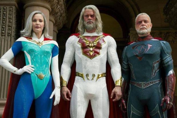 Trois des membres originaux de l'Union de la justice (Photo: Netflix)