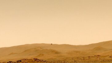 L'hélicoptère Mars De La Nasa Ingenuity Atterrit Sur Un Nouvel