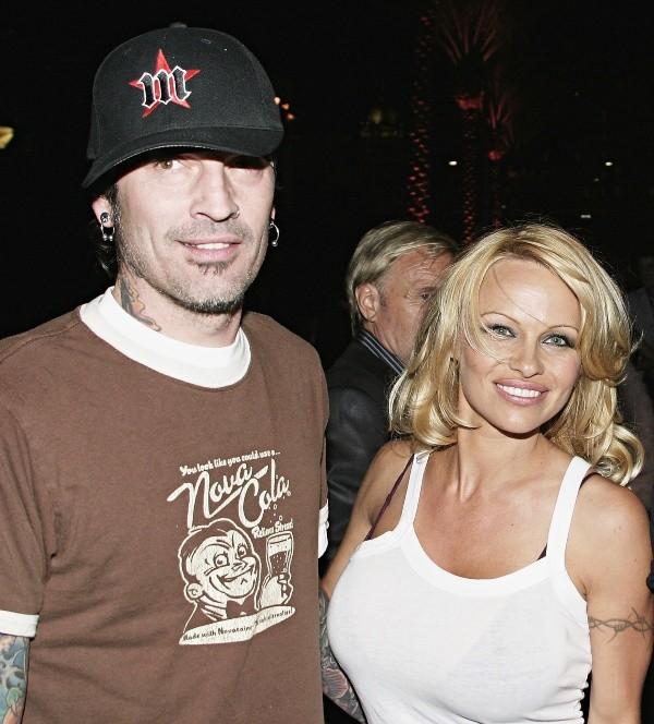 Les originaux Pamela Anderson et Tommy Lee.  Photo: (Getty)