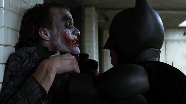 Ledger a poussé la méthode à l'extrême.  Crédit: Warner Bros.