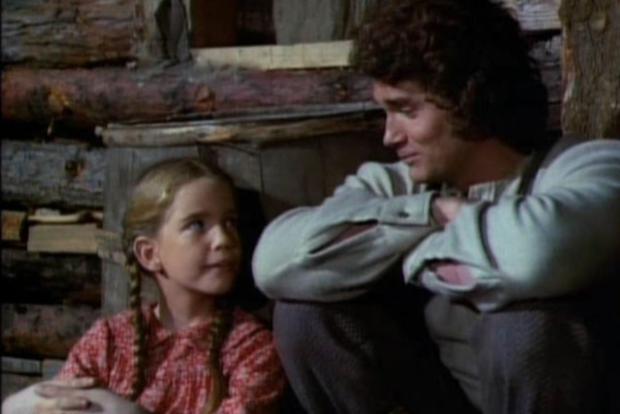 Michael Landon et Melissa Gilbert étaient père et fille dans «The Ingalls Family», une série où ils ont développé une connexion très spéciale.  (Photo: NBC)