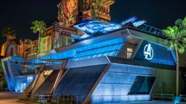 Disneyland partage de nouvelles images de l'attraction sur le thème des `` Avengers ''