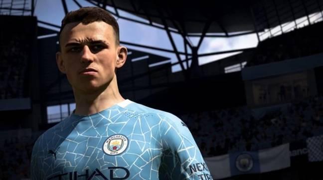 Phil Foden est un autre joueur supposé figurer sur la couverture après une saison impressionnante à Manchester City