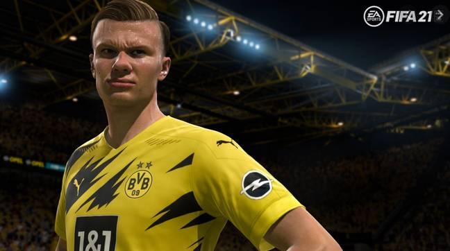 EA Sports a récemment signé Erling Haaland comme l'un de ses ambassadeurs