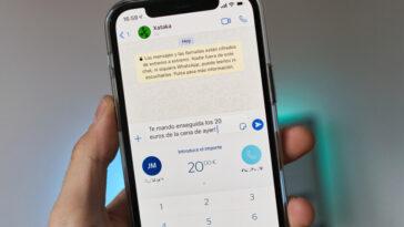 Envoyer de l'argent via Bizum directement depuis WhatsApp: comment BBVA Cashup est activé et fonctionne