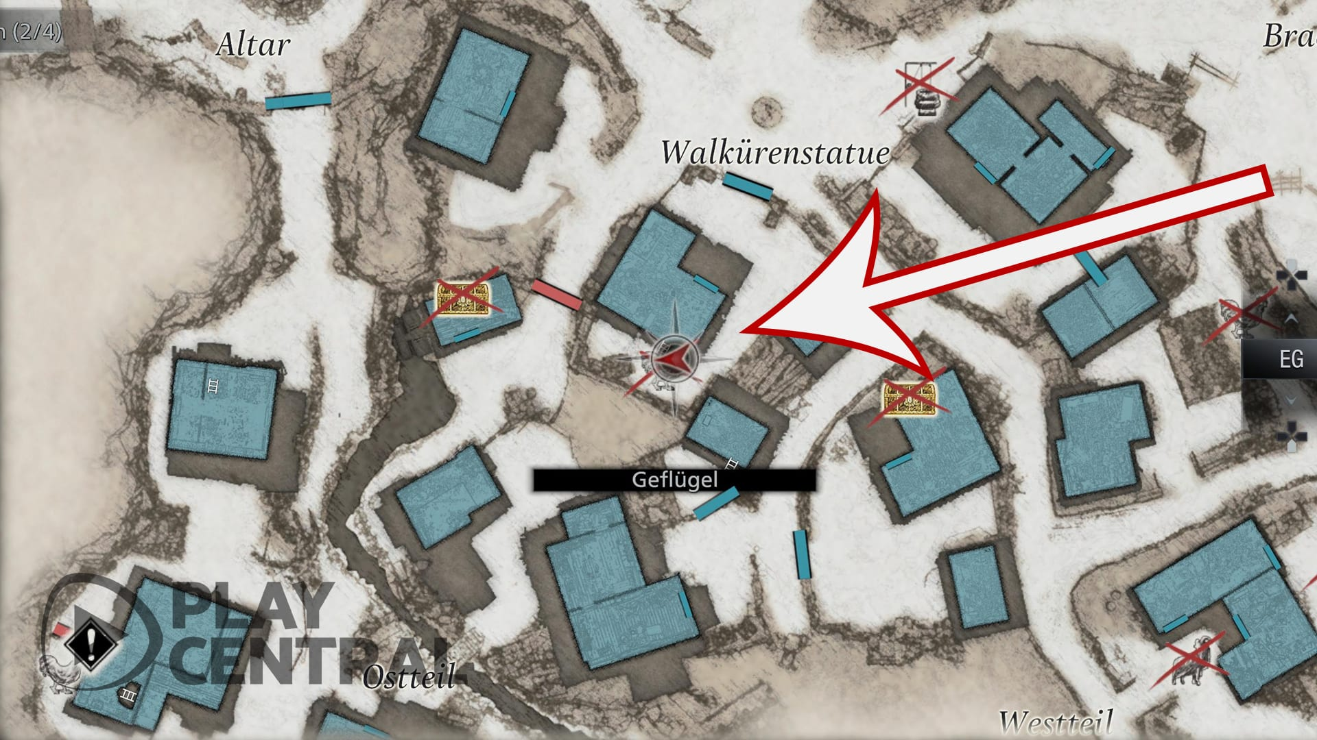 Emplacement des toilettes Resident Evil 8 Village