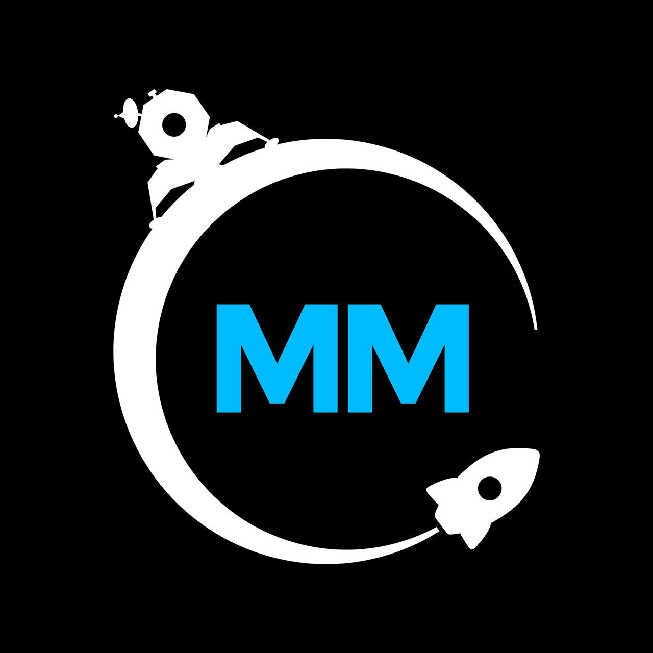 Le logo du Moonshot Museum.