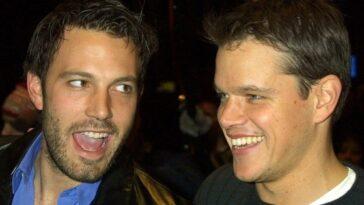 Matt Damon parle de Ben Affleck et Jennifer Lopez