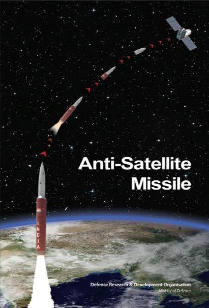 En 2019, l'Inde a testé une arme anti-satellite (ASAT).  La cible du test Mission Shakti était le satellite Microsatellite-R du pays, spécialement construit pour être détruit car il reproduisait la taille d'un vaisseau spatial de défense typique d'un adversaire.  La Chine, la Russie et les États-Unis ont également sérieusement étudié la technologie ASAT.