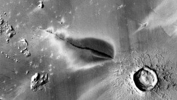 Mars Peut Encore être Volcaniquement Actif, Selon Une étude