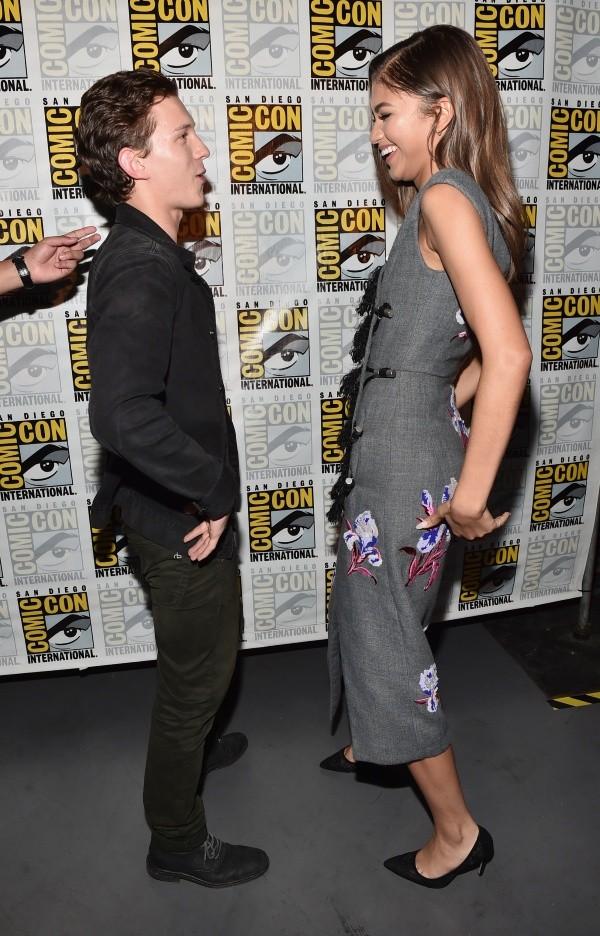 Tom Holland et Zendaya ont eu du mal à se rencontrer.  Photo: (Getty)