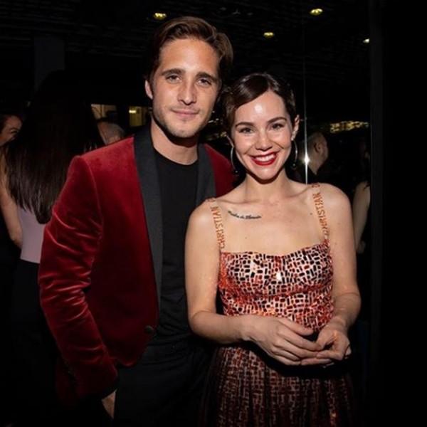 Diego Boneta et Camila Sodi.  Photo: (Who Magazine)