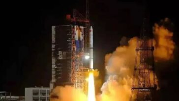 La Chine Met En Orbite Des Satellites Yaogan Plus Classifiés