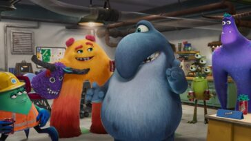 Révélez la première image de la prochaine série Pixar, `` Monstres au travail ''