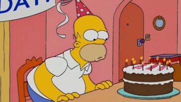 Joseph Gordon-Levitt félicite Homer Simpson pour son anniversaire