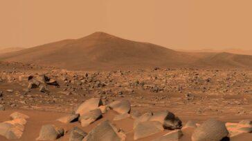 Le Rover Perseverance De La Nasa Sur Mars A Trouvé