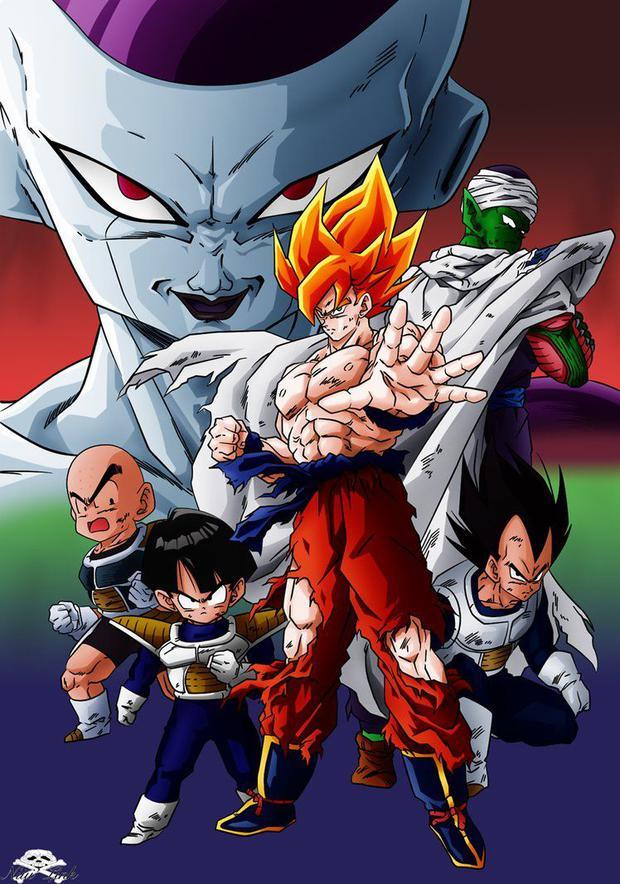 """Goku dans """"Dragon Ball Z"""" a donné sa vie pour la deuxième fois.  Cette fois, il s"""