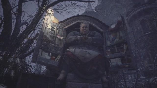 Un guichet unique pour tous vos besoins de chasse aux vampires.  Capture d'écran de Resident Evil: Village.