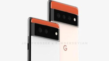 Google Pixel 6 Et Pixel 6 Pro: Leak Montre Un