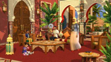 The Sims 4: Courtyard Oasis Set Annoncé Et Nouvelle Mise