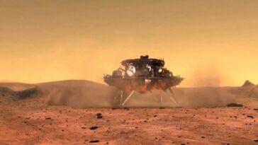 Le Premier Rover Chinois Sur Mars, Zhurong, Atterrit Sur La