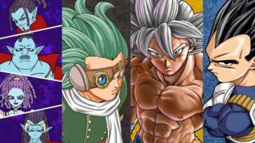 Dragon Ball Super partage le croisement de Goku et Granolah