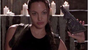 """Angelina Jolie devait être convaincue d'agir dans """"Tomb Raider"""""""